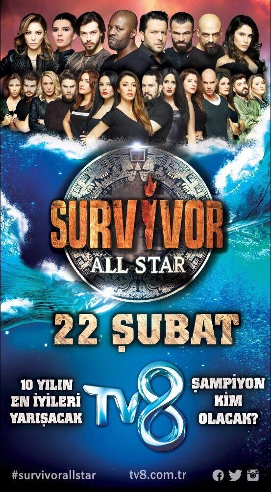 Survivor All Star Afişi, Afişleri, Afiş Resimleri-1