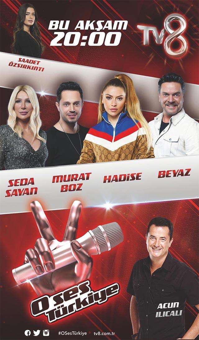 O Ses Türkiye 2018 Afişi ve Posteri, Afişleri, Afiş Resimleri-1